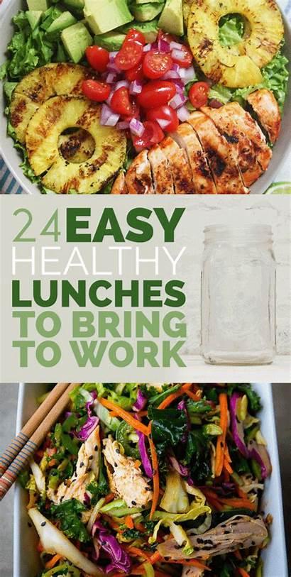 Healthy Easy Lunch Treats Chicken Bring Salad