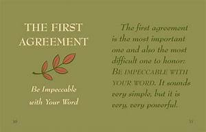 Wisdom From The Four Agreements  Mini Book   Don Miguel