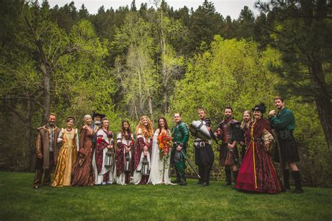 wedding combines lord of the rings and of thrones the escapist