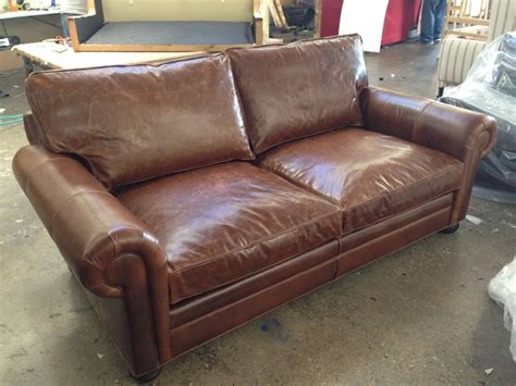 brompton leather sofa 84 and 108 langston leather sofas in brompton classic 1813