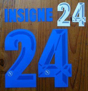 Kit style, kit fit, kit number, etc! LORENZO INSIGNE 24 NAPOLI AWAY 2013 2014 NAME NUMBER SET ...