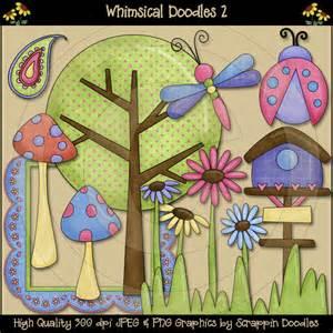 Whimsical Doodle Clip Art