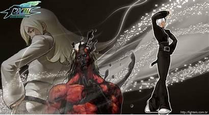 Kof Xiii Bosses King Fighters Deviantart Ash