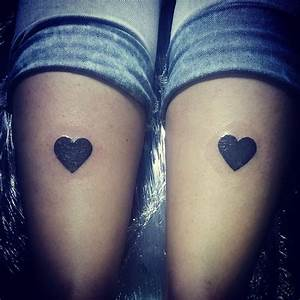 Hearts Black And White Tattoo | www.imgkid.com - The Image ...