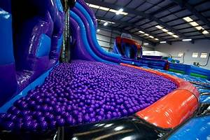 Take A Look Inside Inflata Nation Manchester Evening News