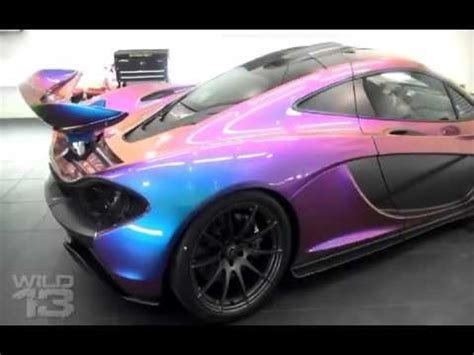 chagne color car bmw lambo mclaren porsche audi changing colors with