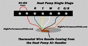 Air Temp Heat Pump Thermostat Wiring Diagram