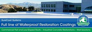 SURECOAT SYSTEMS, Waterproof Restoration Coatings for the ...