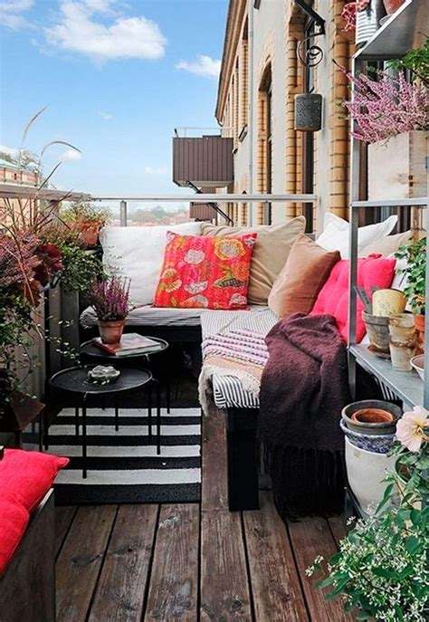 Small Apartment Zinging With Color by 76 Best Porches Patios Images On Outdoor