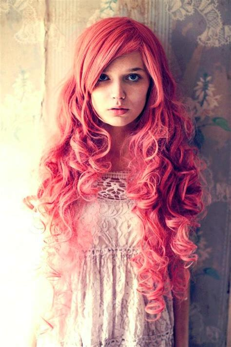 Long Pink Curls Long Hairstyles How To