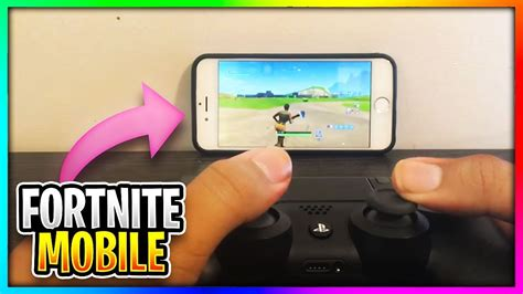 omg   controller  fortnite mobile youtube