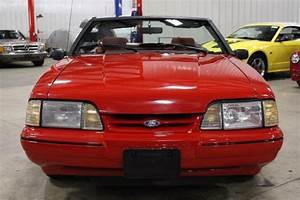 1992 Ford Mustang 90268 Miles Red Convertible 2.3 Liter I4 Automatic for sale - Ford Mustang ...