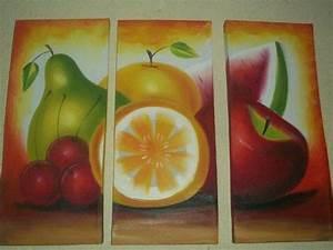 Cuadros Pintados A Mano Tripticos Moderno Oleo