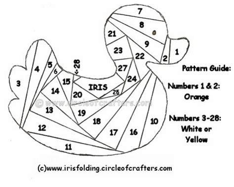 printable iris folding patterns modele de broderie