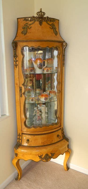 ebay corner china cabinet corner china cabinet ebay woodworking projects plans