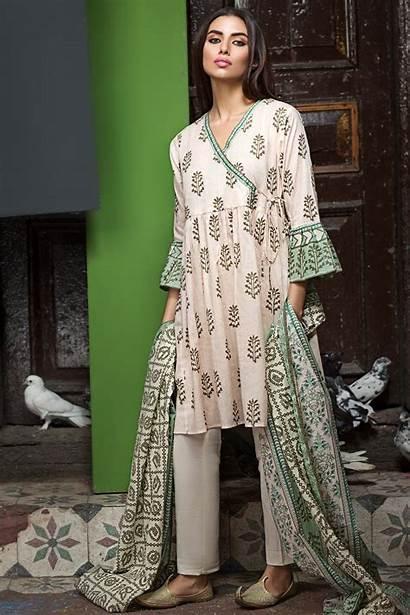 Lawn Dresses Latest Summer Khaadi Printed Designs