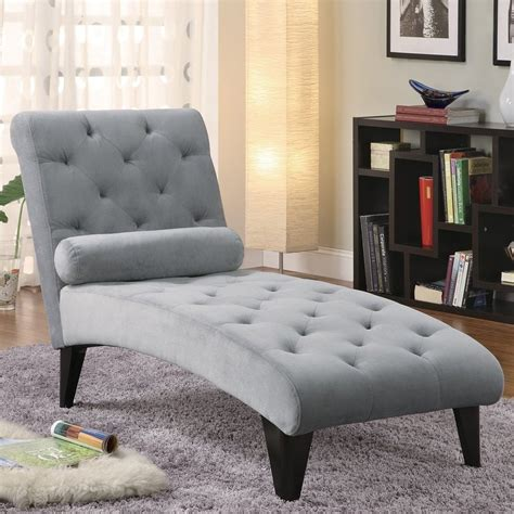 shop coaster fine furniture grey velour chaise lounges