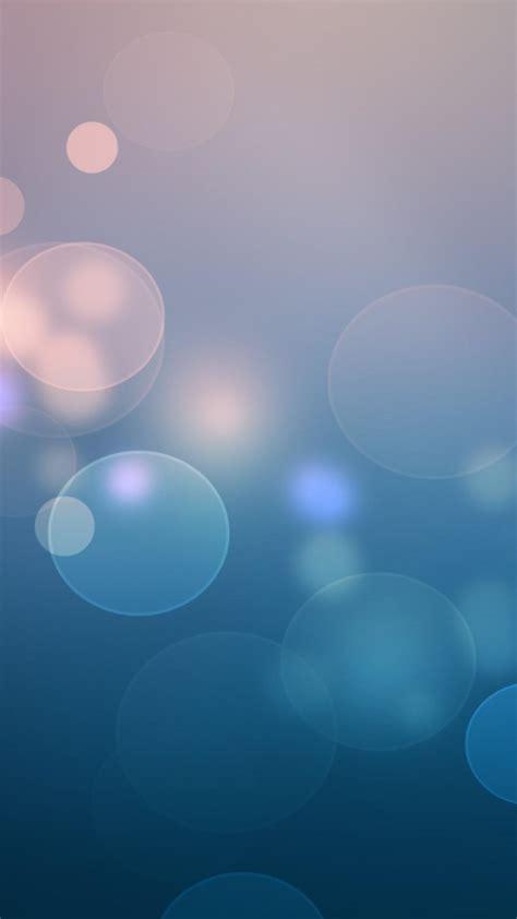 abstract minimalistic circles bokeh digital art gradient