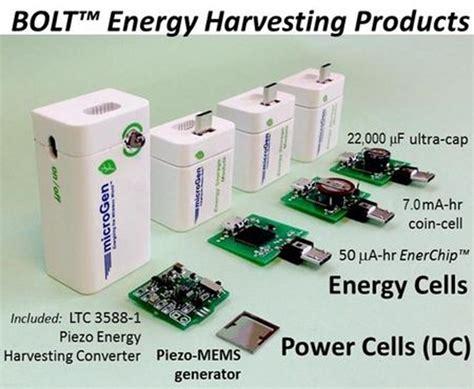 MicroGen's Piezo-MEMS Vibration Energy Harvesters Enable ...