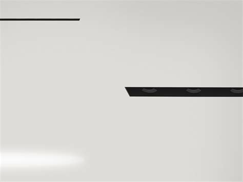 Builtin Lighting Profile For Downlights Black Line By Flos
