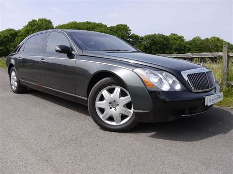 Used Caspian Black Maybach 62 For Sale
