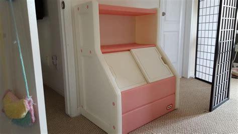 Little Tikes Pink White Toy Box And Bookshelf Kanata, Ottawa