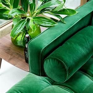 Canape Vert Emeraude : relooking de salon avant apr s eleonore bridge ~ Teatrodelosmanantiales.com Idées de Décoration