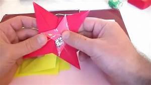 Comment Faire Une étoile En Papier : origami toile fren ai origami ~ Nature-et-papiers.com Idées de Décoration