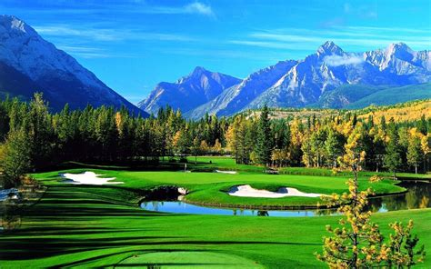 golf course desktop wallpapers this wallpaper