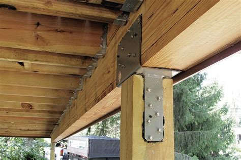 stronger post  beam connections professional deck