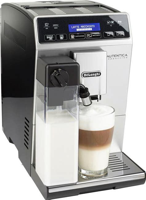 etam siege delonghi kaffeevollautomat autentica etam 29 660 sb