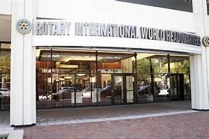 Tour Rotary International headquarters in Evanston ...