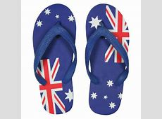 Australia Flag Thongs Bellbrae