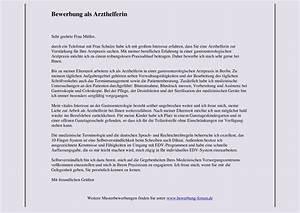 Bewerbungsschreiben arzthelferin kostenlose anwendung for Bewerbungsschreiben arzthelferin muster