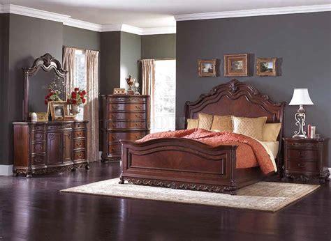 deryn park bedroom cherry  homelegance