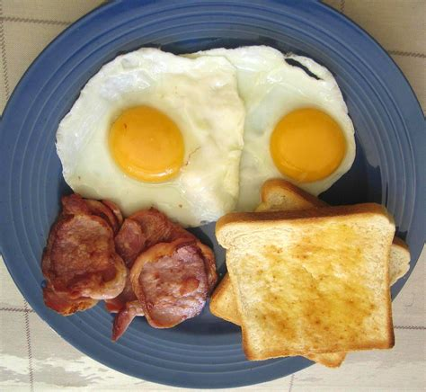 eggs and bacon it s not just anzac day it s also bacon and eggs day spilling my own thunder