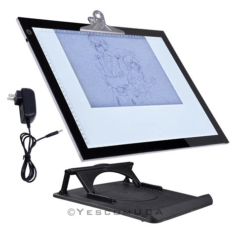 light box drawing 19 quot led artist stencil board drawing tracing table