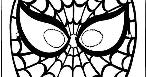 Máscara de homem aranha ESPAÇO EDUCAR