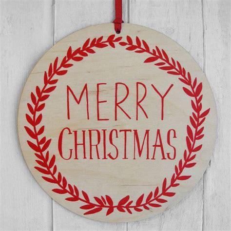 large merry christmas decoration