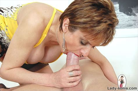 Nasty Lady Sonia Makes Guy Feel The Ecstasy And Pain Sucking His Cock But Never Letting Him Cum