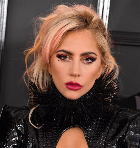 Lady Gaga Rocked Fire Engine Red Eye Makeup At The Grammys  Here's How To Get The Look