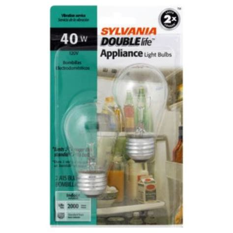 sylvania incandescent clear appliance l a15 medium base