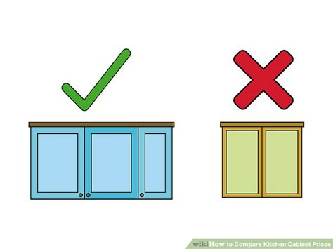 kitchen cabinet price comparison how to compare kitchen cabinet prices 13 steps with 5667