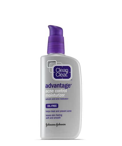 advantage acne control moisturizer clean clear
