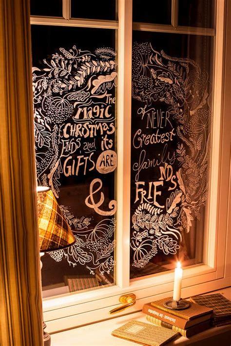 Weihnachtsdeko Fenster Rosa by Window