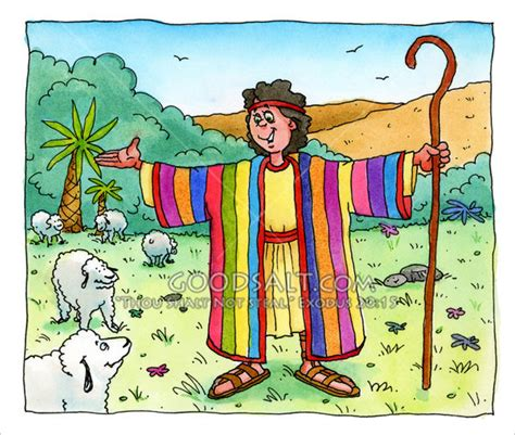 joseph and his coat of many colors the coat of many colors