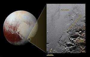 Space Images | The Jagged Shores of Pluto's Highlands