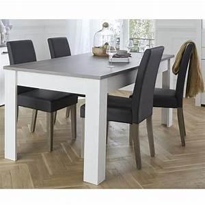 table de salle a manger avec allonge longueur max 230 cm With petite table salle à manger