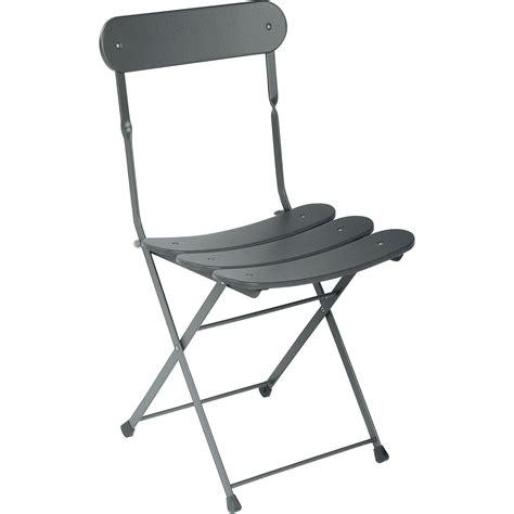 chaise pliante fer forgé chaise de jardin en acier cassis fer ancien leroy merlin