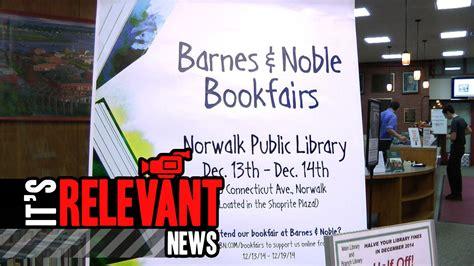 Barnes And Noble Norwalk Ct by Barnes Noble Bookfair Will Benefit Norwalk